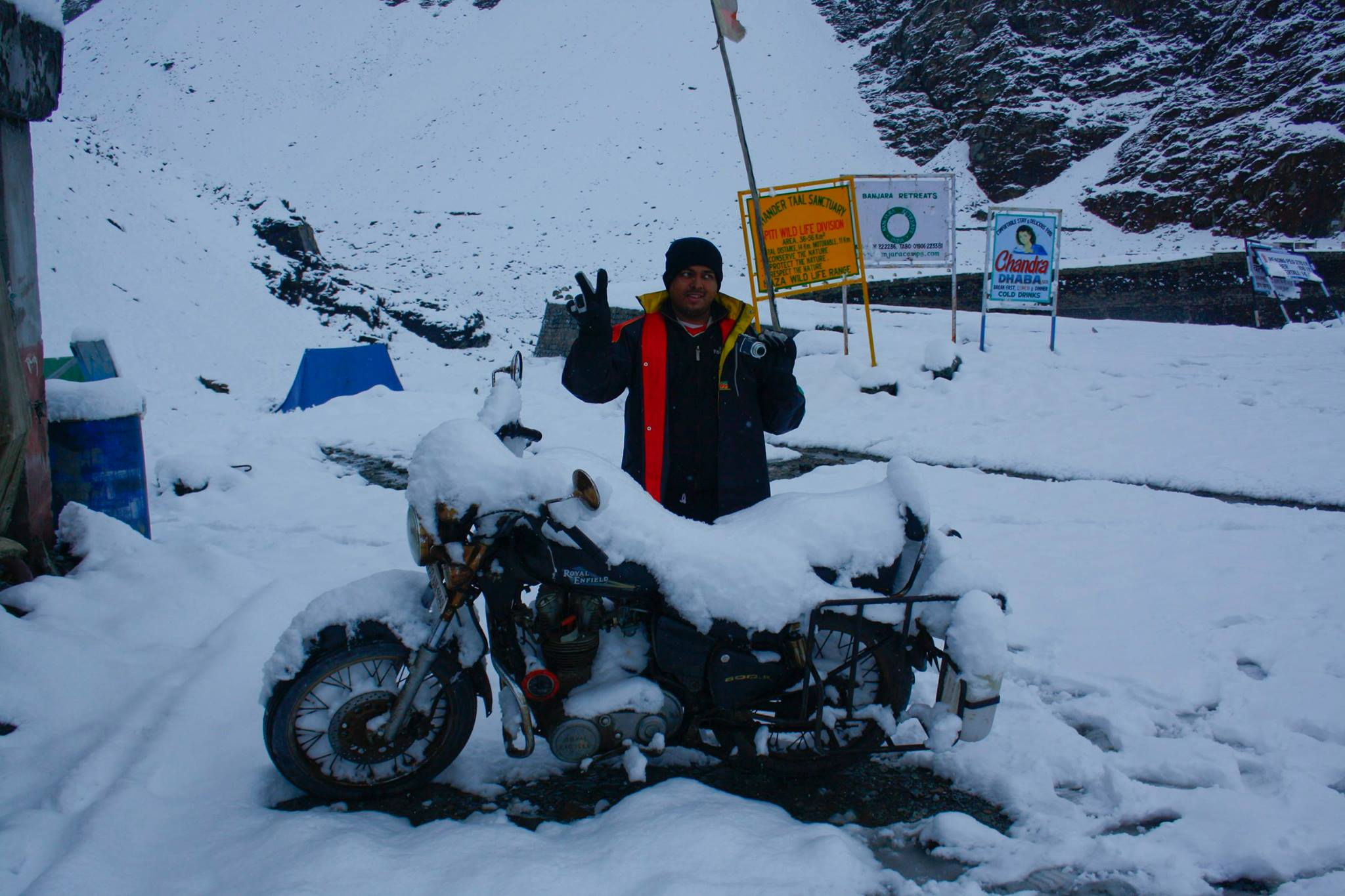 Photo of Old School bikers | Ameya Adventures | Solo Ride To Ladakh
