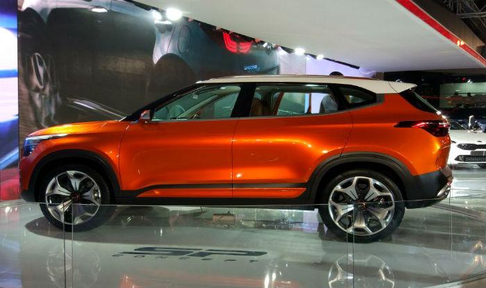 Photo of Kia unveils the SP concept at the 2018 Delhi Auto Expo