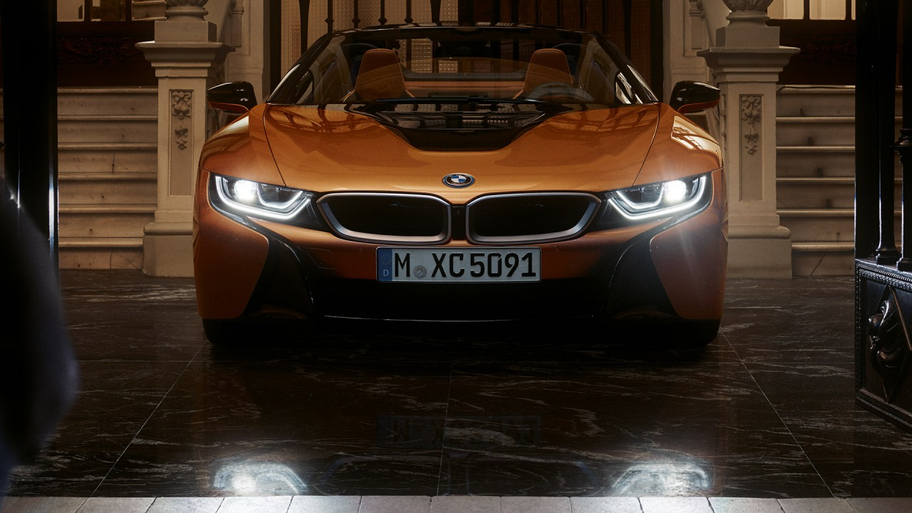 Photo of A glimpse of 2018 BMW i8 roadster