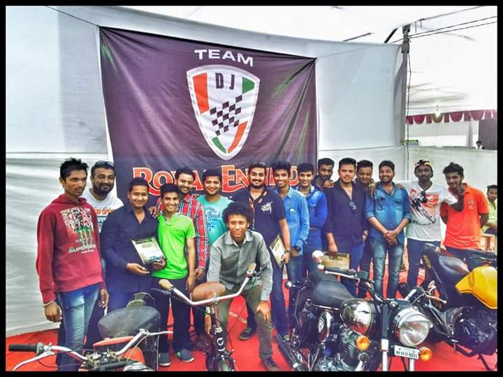 Photo of Team DJ customs – A make up artist for your Royal Enfield