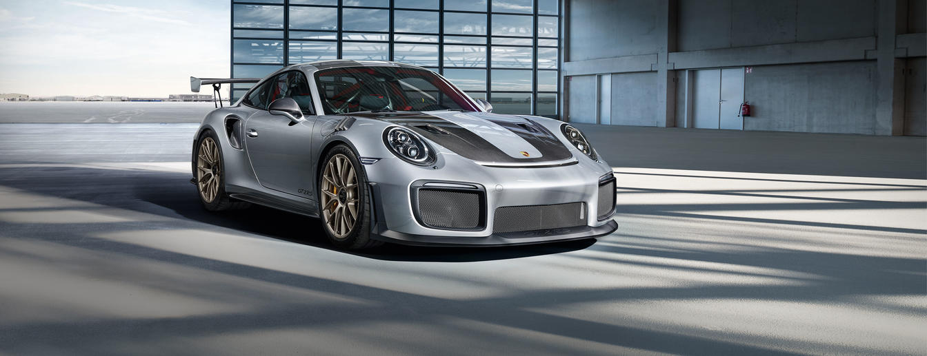 Photo of Porsche 911 GT2 RS on Indian soil