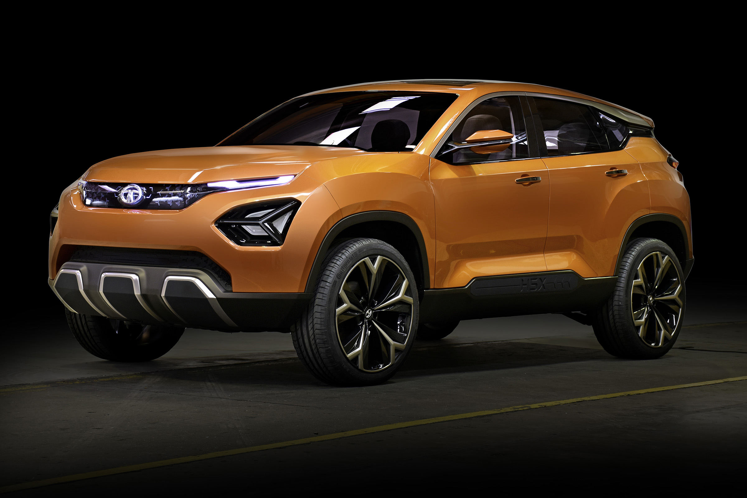 Photo of Tata H5X finally got its name: Tata Harrier
