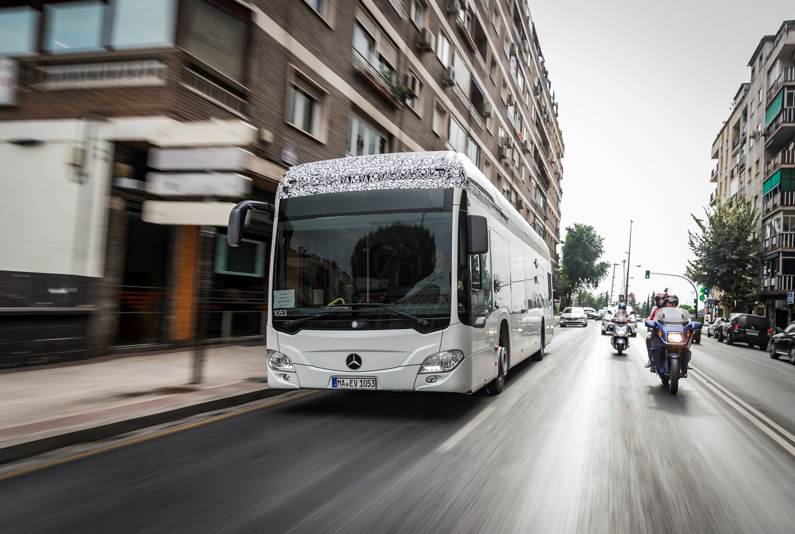 Photo of Mercedes-Benz Citaro: A fully electric city bus