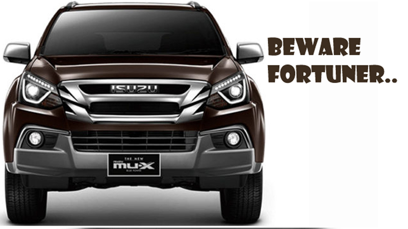 Photo of Toyota Fortuner to get fresh rivals soon in the form of the 2019 Mitsubishi Pajero and 2019 Isuzu MUX
