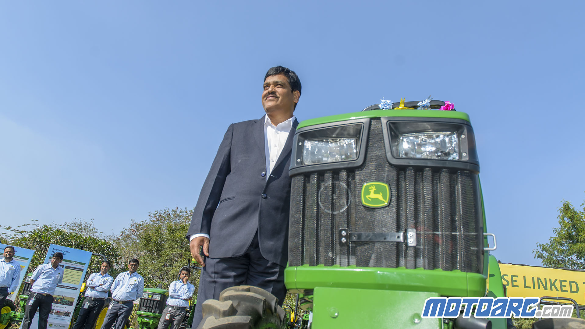 Photo of John Deere India Launches 4WD Tractor for high value crop