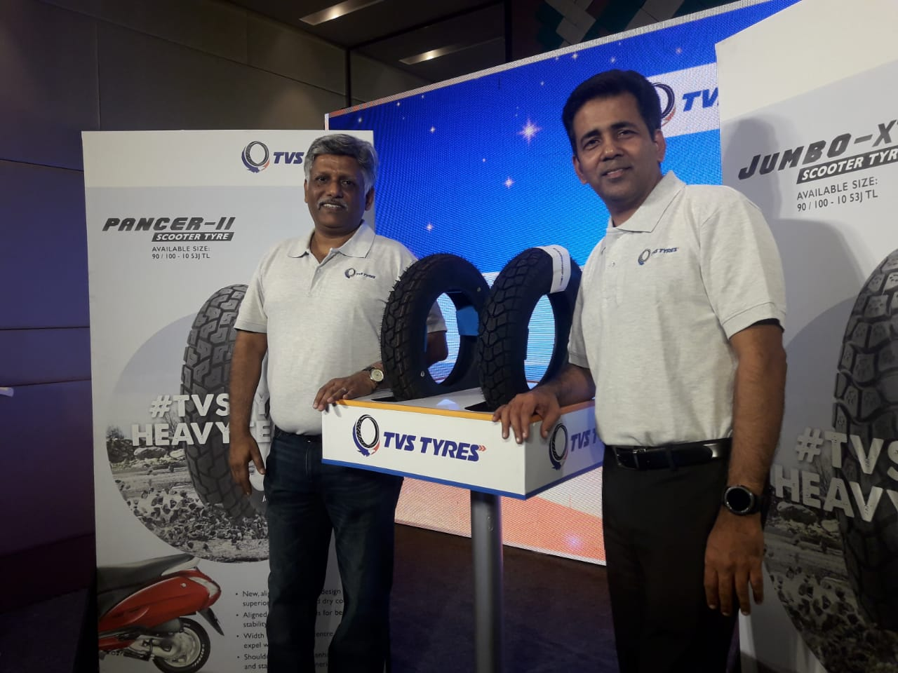 Photo of TVS Tyres launches two new tyre patterns for scooters