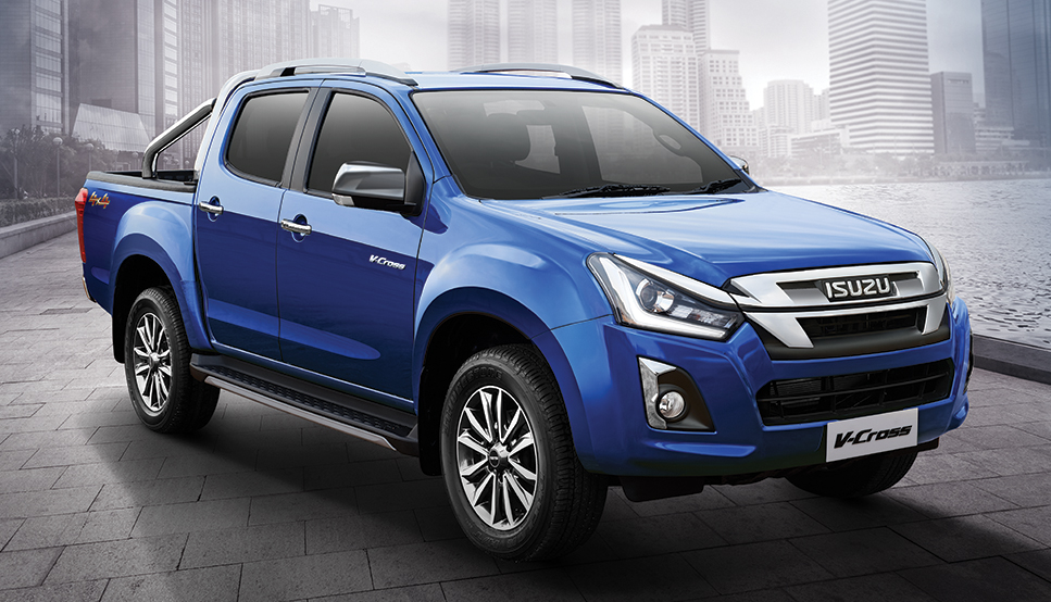 Photo of 2019 Isuzu D-Max V-Cross Z-Prestige: Automatic Transmission, 1.9 litre engine launched