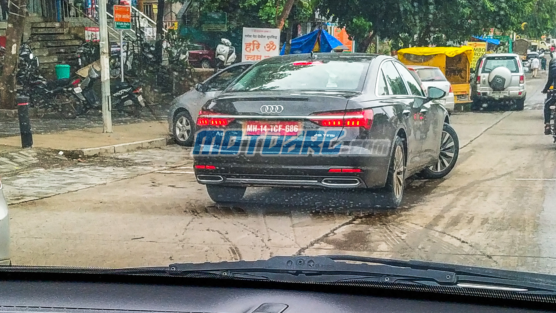 Photo of 2019 Audi A6 Spied undisguised in India; Launch Soon?