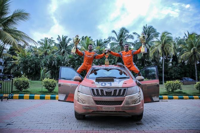 Photo of Gaurav Gill wins 11th Edition of Dakshin Dare Rally