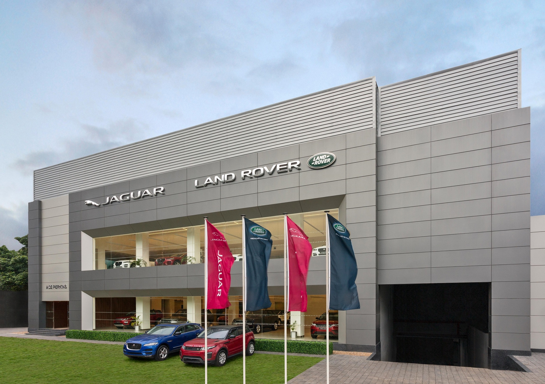 Photo of Ace Perkins Jaguar Land Rover: New 3S JLR dealership facility in Pune