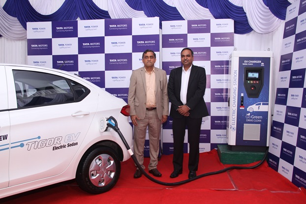 Photo of Tata Power and Tata Motors join hands to set in motion  electric mobility infrastructure in India