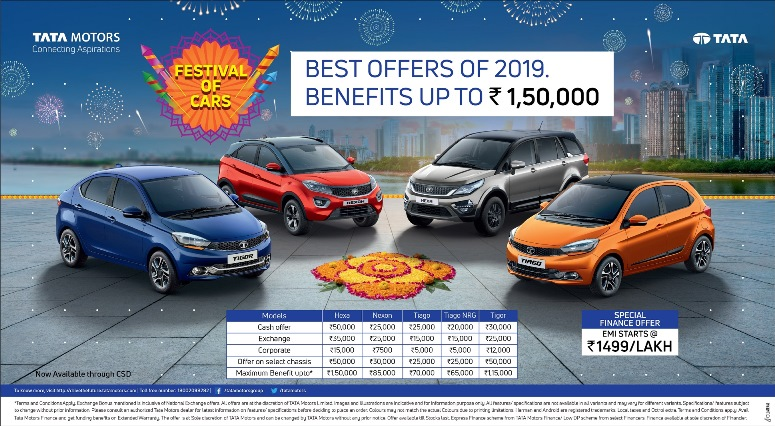 Photo of Tata Motors announces 'Festival of Cars' Campaign for its customers