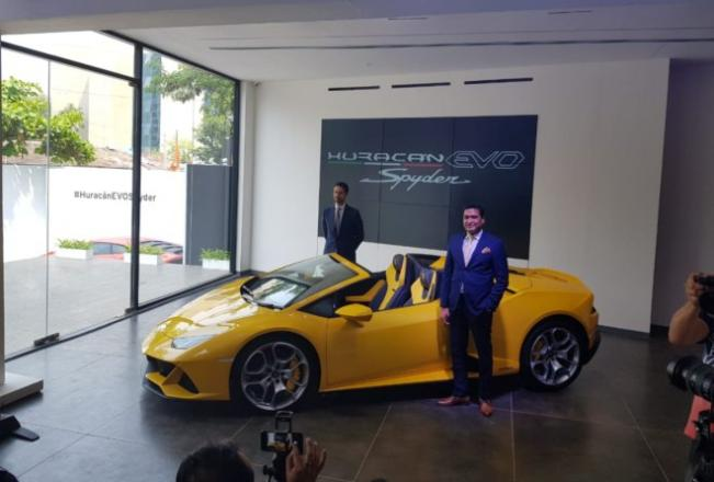 Photo of Lamborghini Huracan Evo Spyder launched at Rs. 4.1 crore