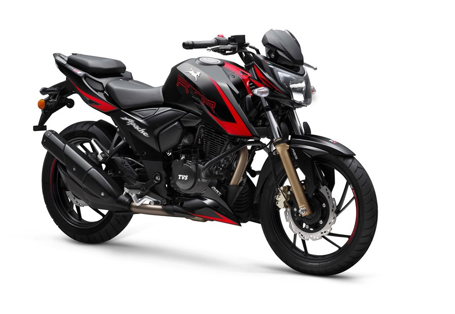 Photo of TVS launches Bluetooth-enabled TVS Apache RTR 200 4V