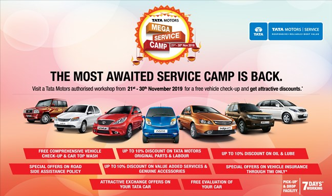 Photo of Tata Motors rolls out nation-wide Mega Service Camp for its customers