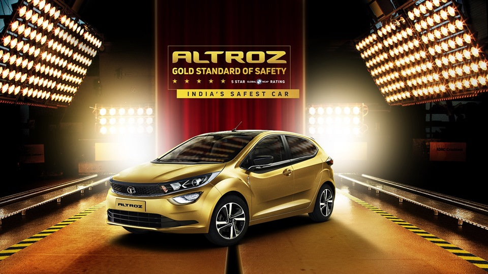 Photo of Tata Altroz earns the 5-star adult safety rating from Global NCAP