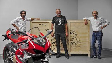 Photo of Ducati Superleggera V4 001/500 delivered to Belgian Filip Van Schil