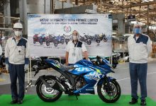 Photo of Suzuki Motorcycle rolls out 50th lakh vehicle from its Gurugram facility