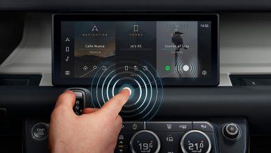 Photo of Jaguar Land Rover develops contactless touchscreen