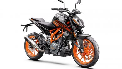 Photo of BS6 KTM 250 Duke with split LED headlamp launched