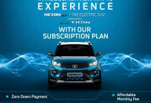 Photo of Tata Nexon now available on monthly subscription