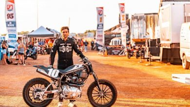 Photo of Royal Enfield Twins FT makes first appearance at American Flat Track event