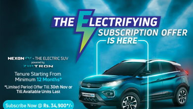 Photo of Tata Motors introduces limited period subscription offer on Nexon EV