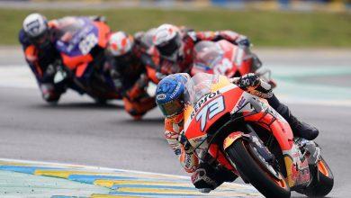Photo of Alex Marquez conquers the wet for debut MotoGP podium