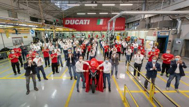 Photo of Ducati Multistrada V4 production starts; world's first bike with radar tech