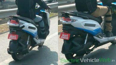 Photo of Suzuki Burgman electric scooter