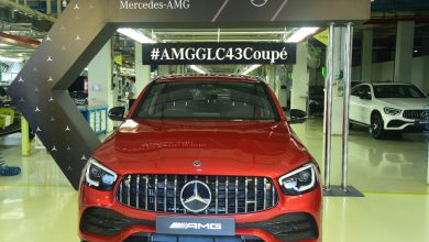 Photo of Mercedes-Benz starts the local production of AMG in India; rolls-out AMG GLC 43 4MATIC Coupé