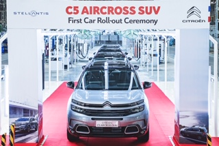 Photo of Citroen C5 Aircross SUV's production starts in India