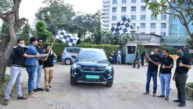 Photo of 'Mileage Challenge Rally' by Tata Nexon EV concludes