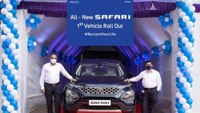 Photo of 2021 Tata Safari production starts; the first car rolls out from the Pune plant