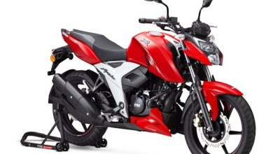 Photo of 2021 TVS Apache RTR 160 4V launched