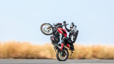 Photo of Bajaj Pulsar NS160 breaks the world record for the longest no-hands wheelie