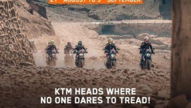 Photo of KTM announces Great Ladakh Adventure Tour from August 21