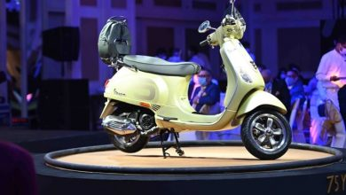 Photo of Vespa 75th Limited Edition unveiled, available in 125CC and 150CC