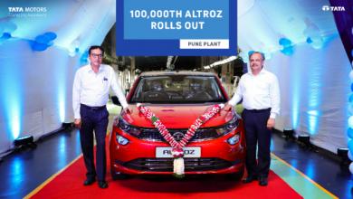 Photo of Tata Motors rollout 1,00,000 ALTROZ
