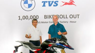 Photo of TVS rolls out the 100,000 unit of the BMW 310cc series motorcycle